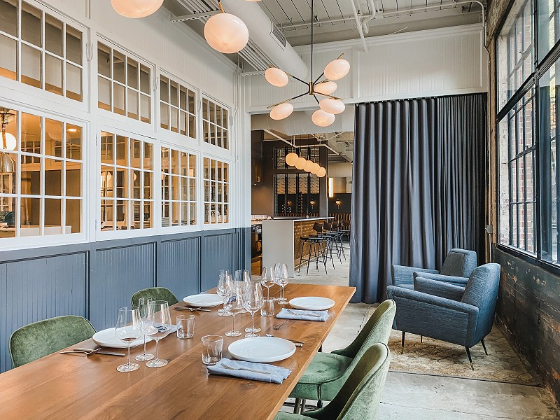 Broadcloth Private Dining Room